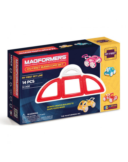 MAGFORMERS My First Buggy Car Set - Red